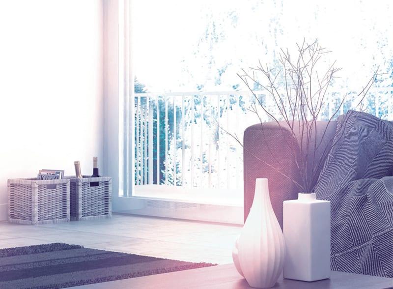 Heat insulation of PVC windows