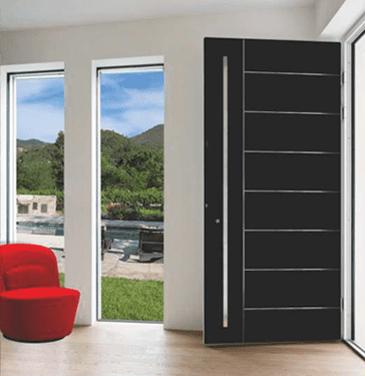 Aluminium-Eingangstüren der Reihe Elite