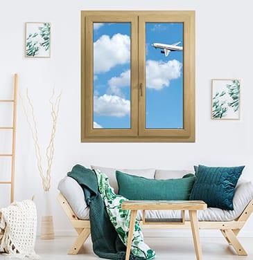 Schalldämmung der PVC-Fenster