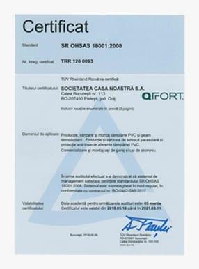 Qualitätszertifizierungen