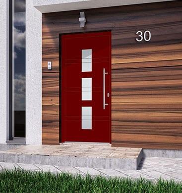 5 Tipps, die Sie bei der Auswahl der Farbe Ihrer Eingangstür berücksichtigen sollten