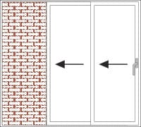 Galandage-Funktion der Schiebetüren Paysage by QFORT 4Stars