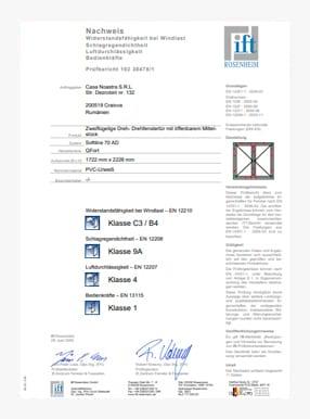 Zertifikate ITT 5stars mit 2 flugeln